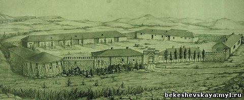 Кисловодская крепость во второй половине XIX века